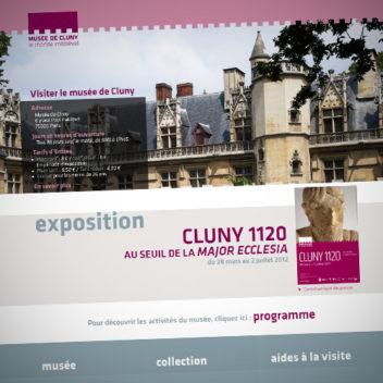 Musée de Cluny, website detail.