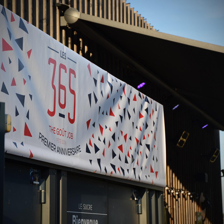 """Banner """"Les 365"""""""