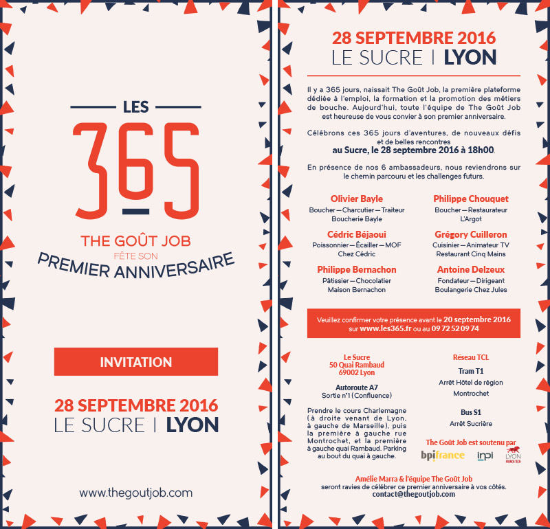 Les 365, invite