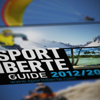 Sport Liberté, 2012/2013 catalogue cover.