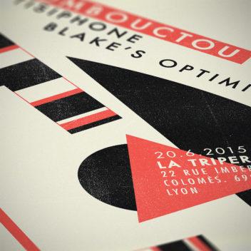 Tombouctou, Tisiphone & Blake's Optimism poster detail.